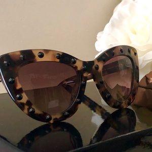 🎀Kate Spade ♠️ Cat Eye Crystal Studded Sunglasses